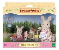 Sylvanian Families 5040 - Tricycle et Minivoiture pour bébés-Avant
