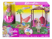 Barbie speelset Chelsea Tiki hut-Vooraanzicht