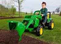 Peg-Pérego elektrische tractor John Deere Ground Loader-Afbeelding 2
