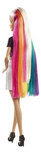 Barbie mannequinpop Regenboog glitterhaar-Achteraanzicht