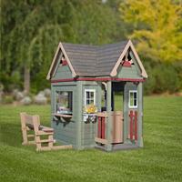 Backyard Discovery houten speelhuisje Victorian Inn-Afbeelding 2