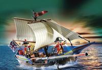 Playmobil Pirates 5140 Navire des soldats britanniques-Image 1