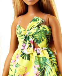 Barbie poupée mannequin  Fashionistas Curvy 126 - Yellow jungle-Détail de l'article