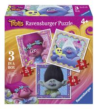 Ravensburger puzzle évolutif 3 en 1 Trolls
