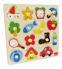 Goula puzzle à boutons Silhouettes-Côté gauche