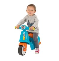 Smoby loopfiets Blue Scooter blauw-Afbeelding 2