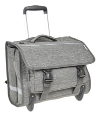 Kangourou trolley-boekentas grijs 44 cm-Linkerzijde