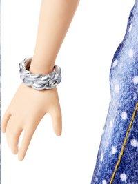 Barbie poupée mannequin  Fashionistas Petite 124 - Denim and Dots-Détail de l'article