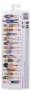 Barbie poupée mannequin  Fashionistas Petite 103 - Tone Graphic Dress-Arrière