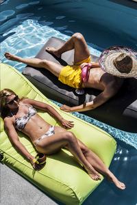 Sunvibes Opblaasbare loungezetel Wave anijsgroen-Afbeelding 1