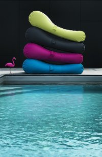 Sunvibes Opblaasbare loungezetel Wave anijsgroen-Afbeelding 2