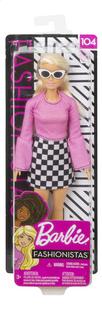 Barbie poupée mannequin  Fashionistas Original 104 - Checkered Chick-Avant