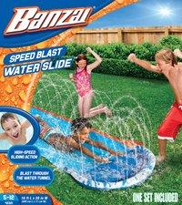 Banzai waterglijbaan Speed Blast Water Slide-Vooraanzicht