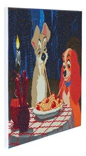 Craft Buddy Crystal Art Kit Disney - La Belle et le Clochard-Côté gauche