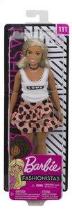 Barbie mannequinpop Fashionistas Curvy 111 - Polka Dot-Vooraanzicht