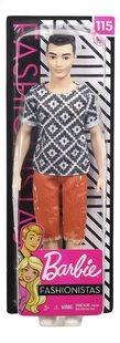 Barbie poupée mannequin  Ken Fashionistas Original 115 - Boho Hip-Avant