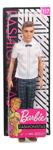 Barbie poupée mannequin  Ken Fashionistas Slim 117 - Slick Plaid-Avant