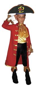 Verkleedpak Piet Piraat 4-7 jaar met gratis hoed -Vooraanzicht