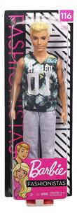 Barbie poupée mannequin  Ken Fashionistas Original 116 - Game Sunday-Avant