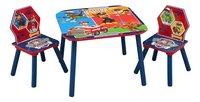 Table avec 2 chaises pour enfants Pat' Patrouille