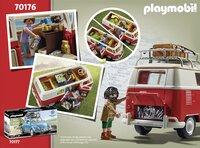 PLAYMOBIL VW 70176 Volkswagen T1 Combi-Arrière