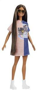 Barbie poupée mannequin  Fashionistas Petite 103 - Tone Graphic Dress-Détail de l'article