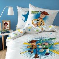 Dekbedovertrek Toy Story Action katoen 140 x 200 cm-Afbeelding 1
