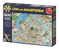 Jumbo puzzel Jan Van Haasteren Tropisch zwemparadijs-Rechterzijde