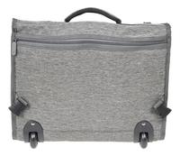 Kangourou trolley-boekentas grijs 44 cm-Achteraanzicht
