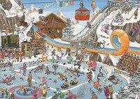 Jumbo puzzel Jan Van Haasteren De Winterspelen-Vooraanzicht