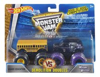 Hot Wheels Monster Truck Demolition Doubles Higher Education VS Mohawk Warrior