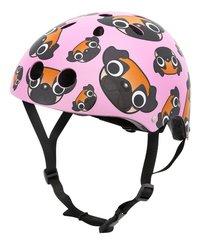 Mini Hornit kinderfietshelm Lids Pug Puppies Pink-commercieel beeld