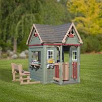 Backyard Discovery houten speelhuisje Victorian Inn-commercieel beeld