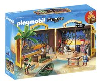 PLAYMOBIL Pirates 70150 Coffre des pirates transportable-Côté gauche