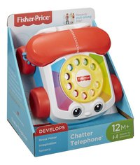 Fisher-Price Chatter Telephone-Côté gauche