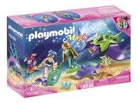 PLAYMOBIL Magic 70099 Chercheurs de perles et raies-Côté gauche