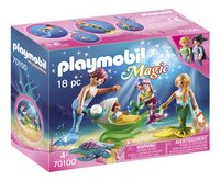 PLAYMOBIL Magic 70100 Meerminnenfamilie-Linkerzijde