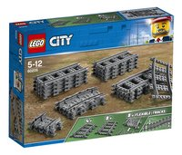 LEGO City 60205 Treinrails-Linkerzijde