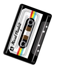 Luchtmatras voor 1 persoon Audio tape-commercieel beeld