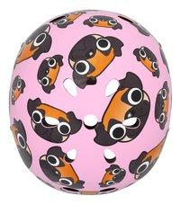 Mini Hornit kinderfietshelm Lids Pug Puppies Pink-Bovenaanzicht