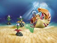 PLAYMOBIL Magic 70098 Sirène avec escargot des mers-Image 1