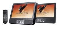 Axxion draagbare dvd-speler met 2 schermen 9 inch