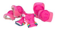 Nijdam beschermset voor kinderen 3D Rainbow M-Vooraanzicht