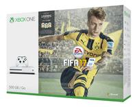 XBOX One S 500 Go + Fifa 17 avec Fifa Legends-Côté droit