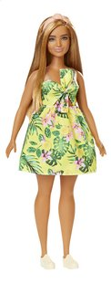 Barbie poupée mannequin  Fashionistas Curvy 126 - Yellow jungle-Avant