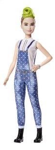 Barbie poupée mannequin  Fashionistas Petite 124 - Denim and Dots-Avant