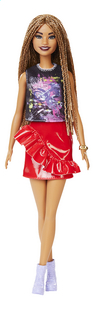 Barbie poupée mannequin  Fashionistas Tall 123 - Rock and Red-Avant