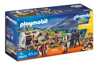 PLAYMOBIL The Movie 70073 Charlie met gevangeniswagon-Linkerzijde