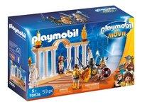 PLAYMOBIL The Movie 70076 Empereur Maximus et Colisée-Côté gauche