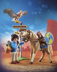 PLAYMOBIL The Movie 70072 Marla met paard-Afbeelding 1